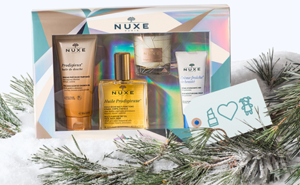 Win 1 of 2 NUXE Gift Sets Worth R995 each!