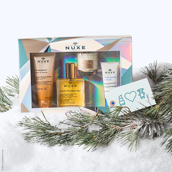 Win 1 of 2 NUXE Gift Sets Worth R995 each! 1