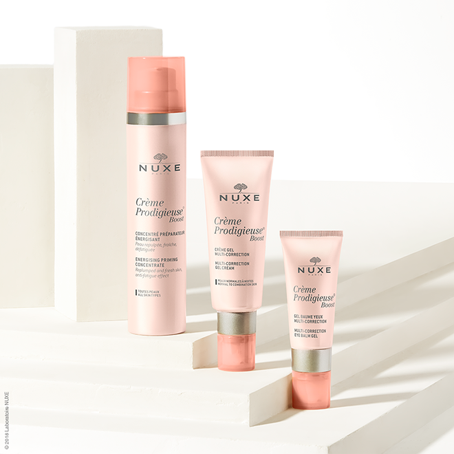We review the new Nuxe Crème Prodigieuse® Boost range 1