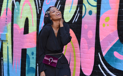We chat New York Fashion Week with Ayanda Thabethe