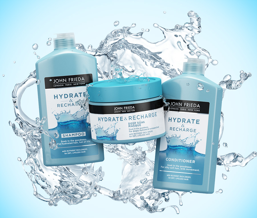 Win 1 of 10 John Frieda hair care hampers 2