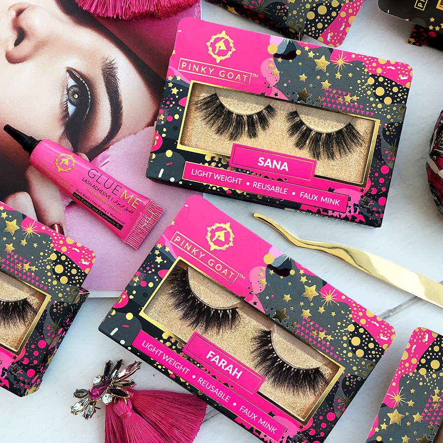 Pinky Goat answers all our questions about false lashes 1