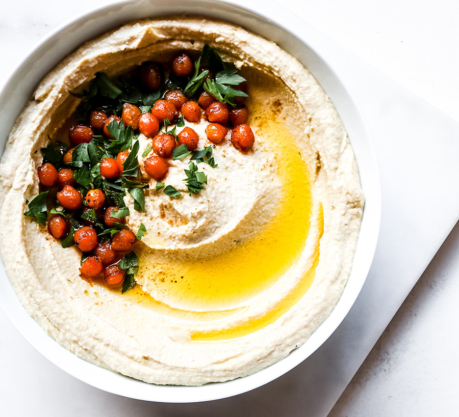 The best healthy hummus recipe you've ever tried plus win a recipe e-book! 1