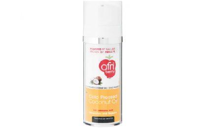 Afri-Berry 100% Organic Cold Pressed Coconut Oil