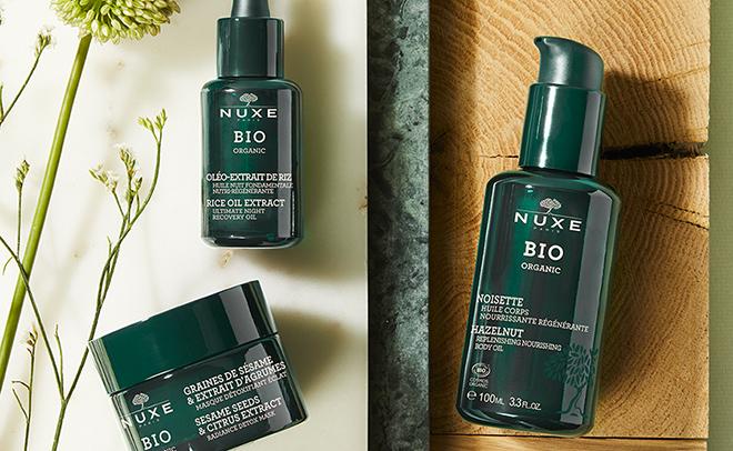 Win a NUXE BIO Organic skincare hamper