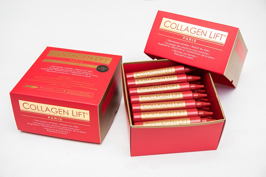 Win one of two Collagen Lift Paris hampers 2