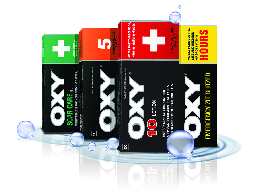 Win one of two OXY skincare hampers 2