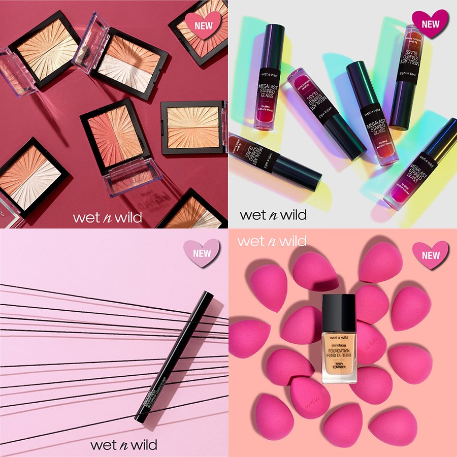 Win the latest wet n wild makeup products 1