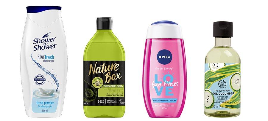 Battle of the shower gels 2