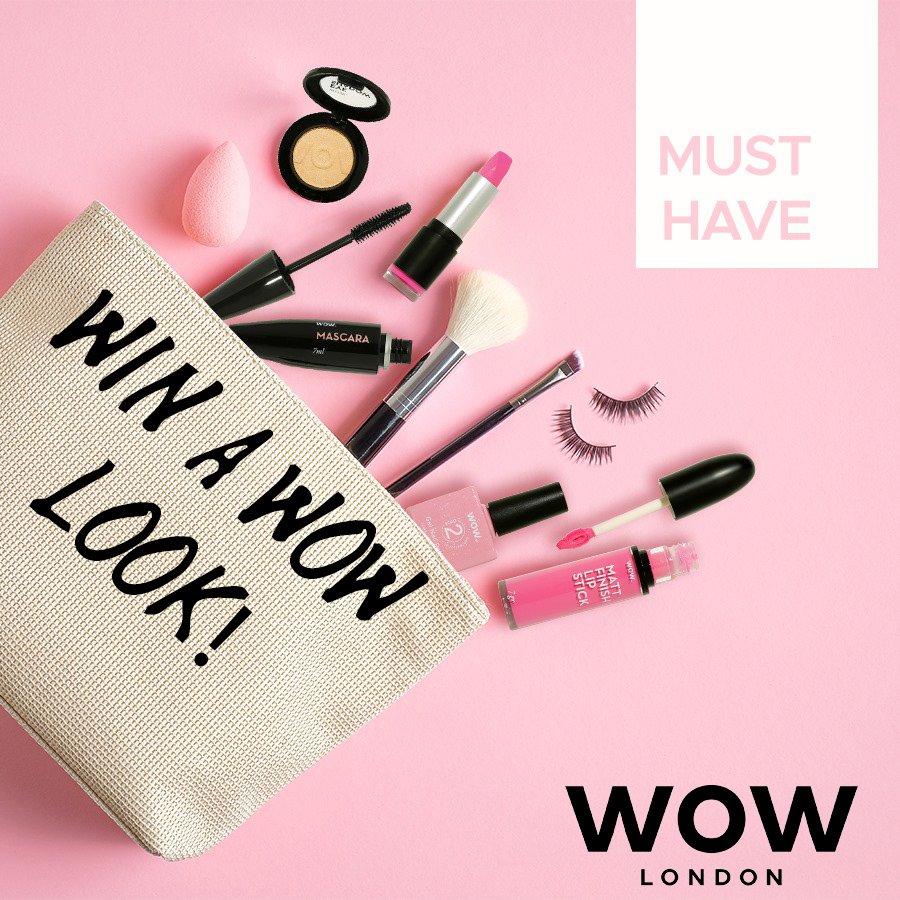 Win 1 Of 2 Wow Cosmetics Makeup Hampers