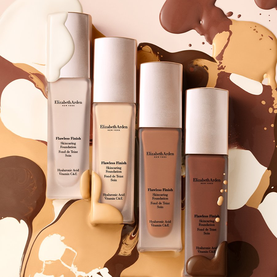 Product of the week: Elizabeth Arden Flawless Finish Skincaring Foundation 1