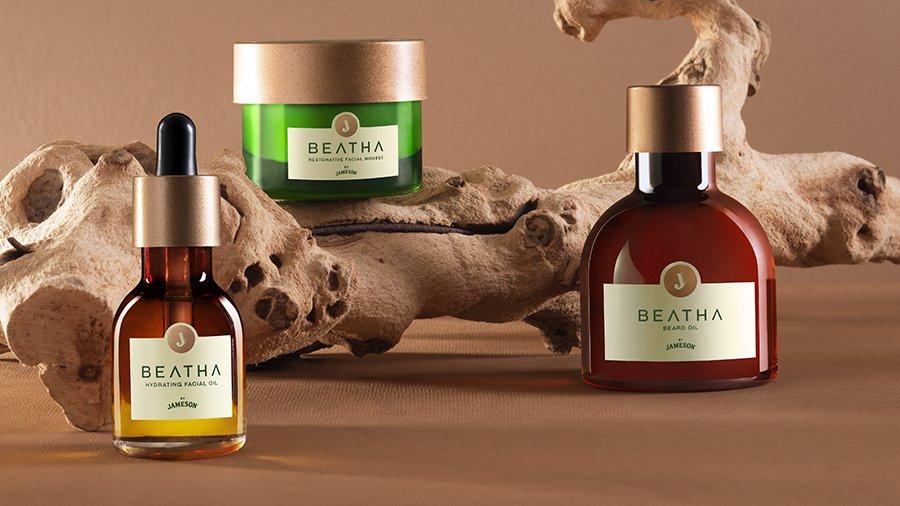 Jameson Whiskey Launches Ground-breaking BEATHA Skincare Range 1