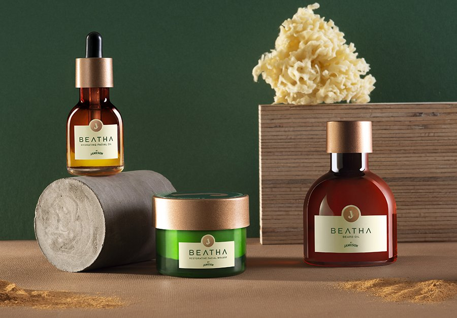 Jameson Whiskey Launches Ground-breaking BEATHA Skincare Range 2