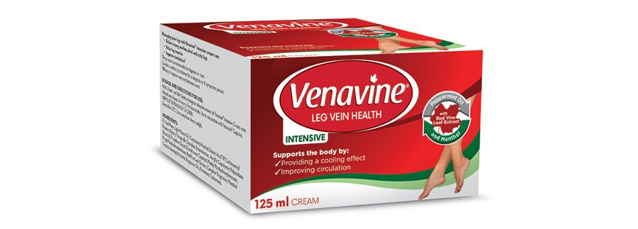 With you every step of the way - Venavine® capsules and cream 2
