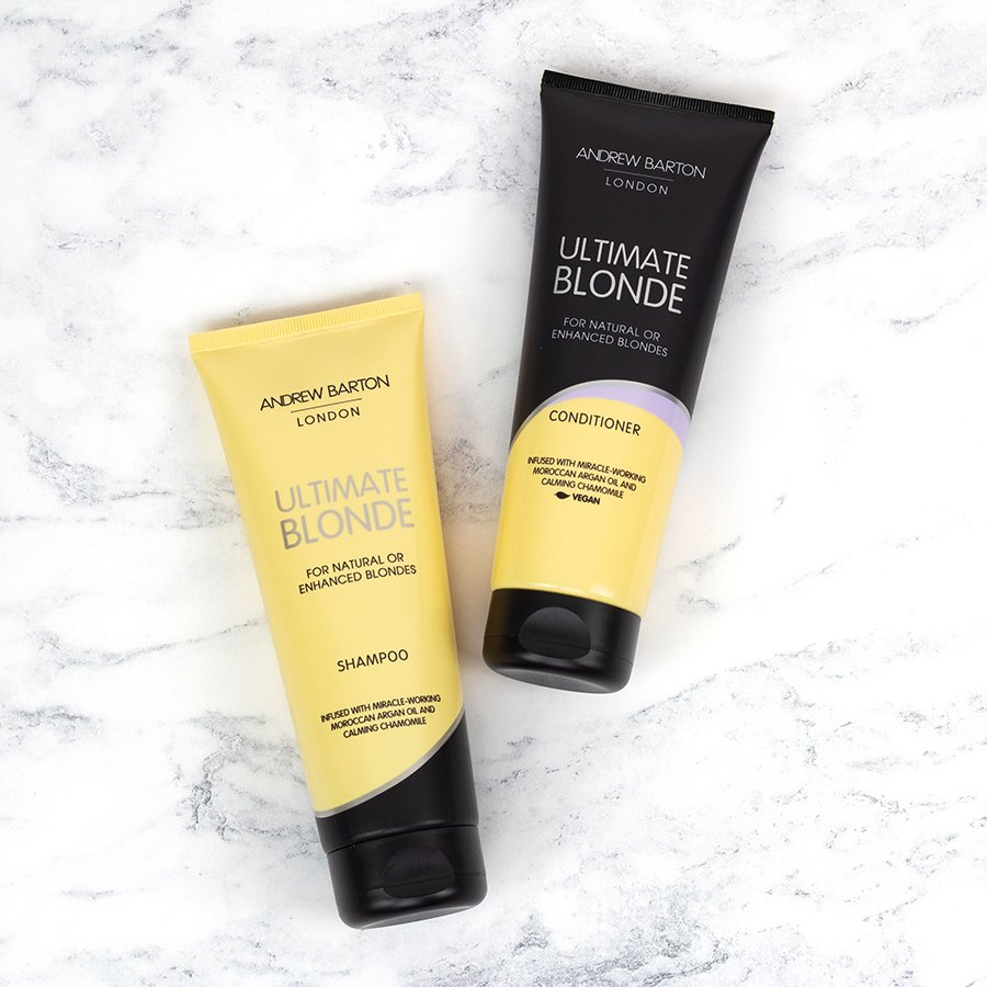 Win one of five Andrew Barton hair care hampers 2