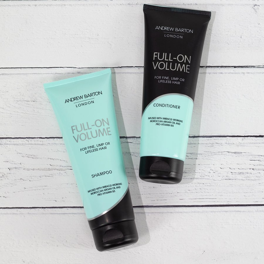 Win one of five Andrew Barton hair care hampers 3