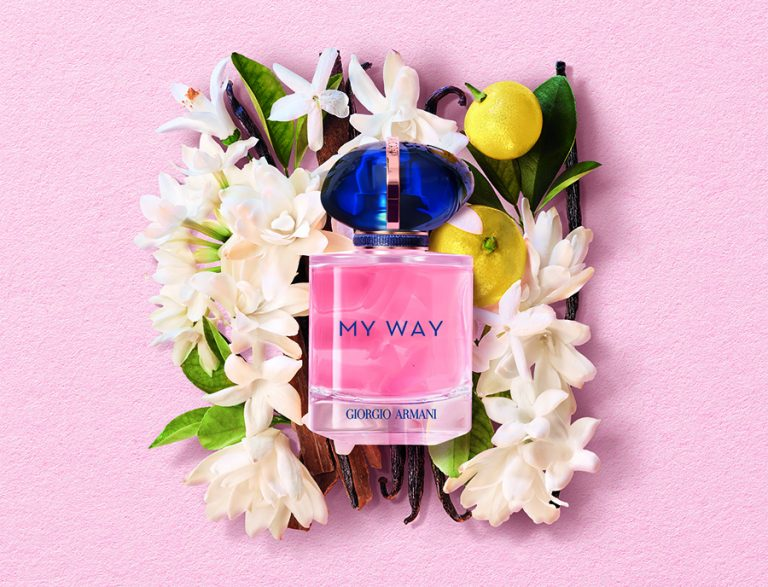 Giorgio Armani launches new floral fragrance MY WAY