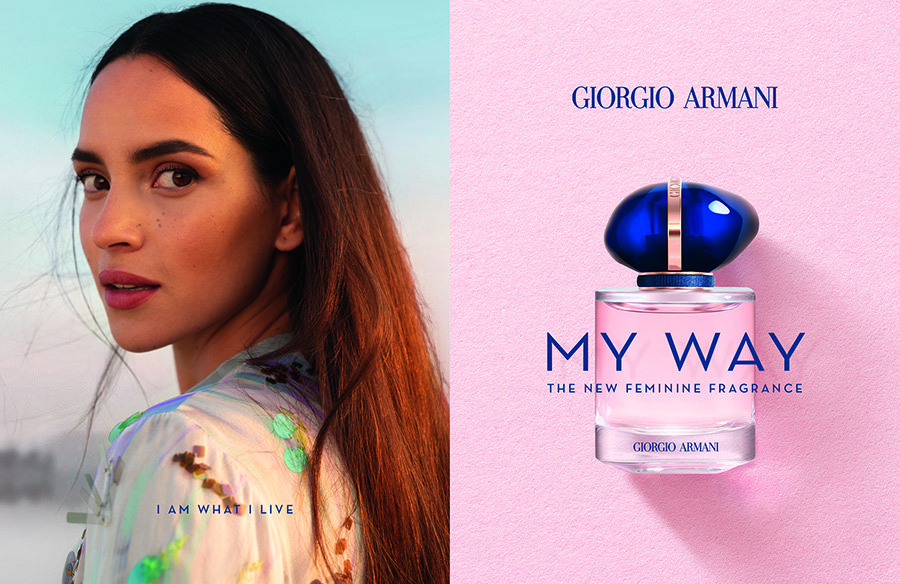 Giorgio Armani launches new floral fragrance MY WAY 3