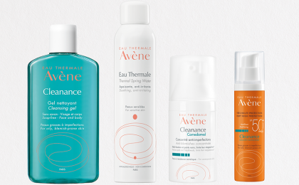 Win an Eau Thermale Avène Cleanance product hamper for oily, blemish-prone skin