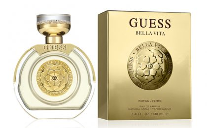 We review the new GUESS Bella Vita Eau de Parfum