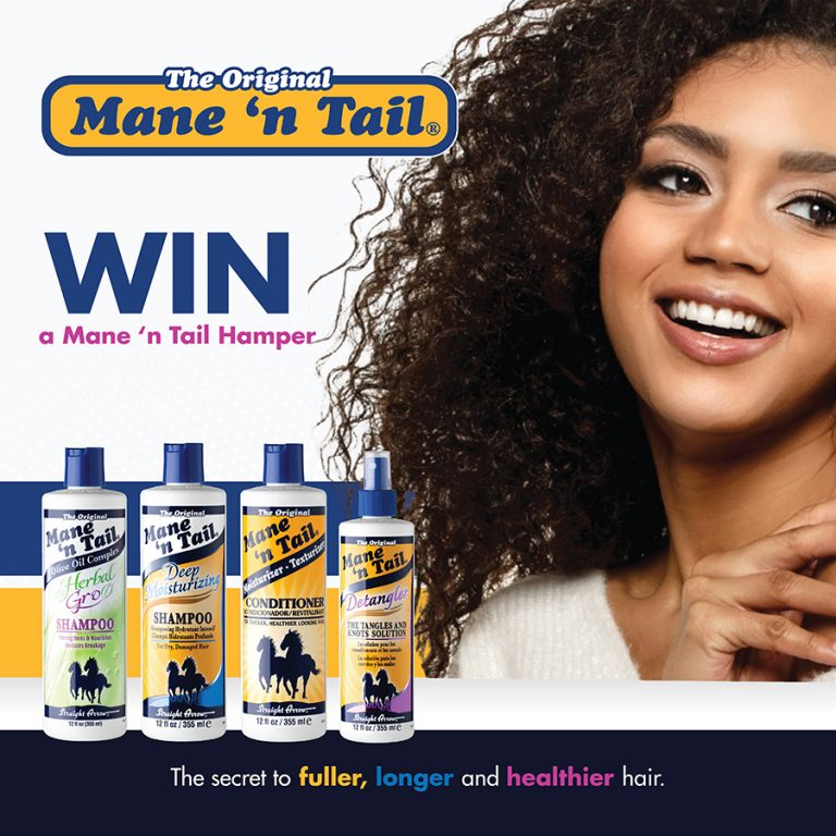Win one of three Mane 'n Tail hair care hampers