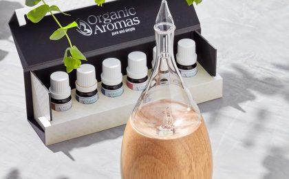We review the Organic Aromas Raindrop Nebulizing Diffuser