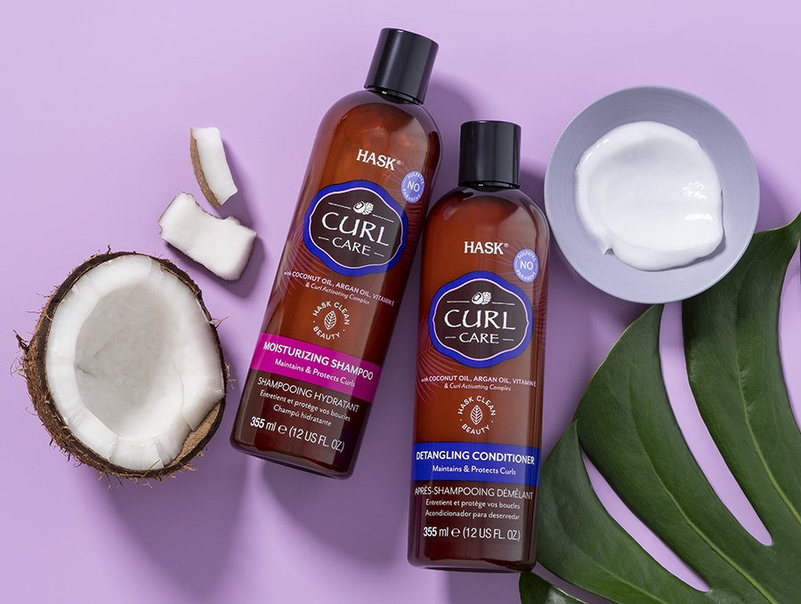 Introducing HASK's new Curl Care Collection for long-lasting curls and definition 2