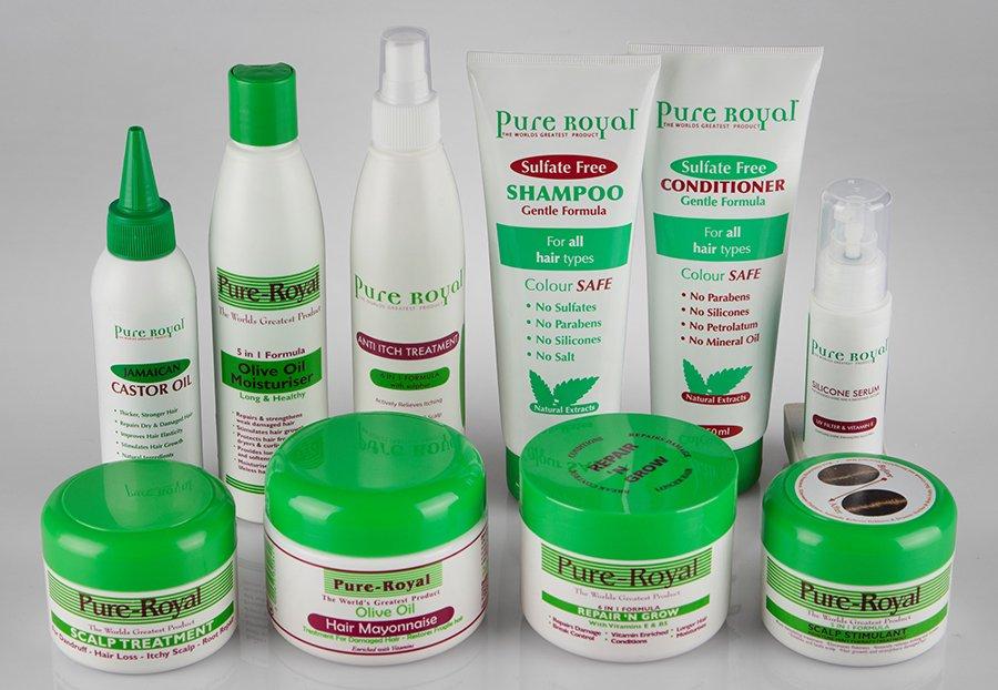 Win a Pure Royal hair care hamper 1