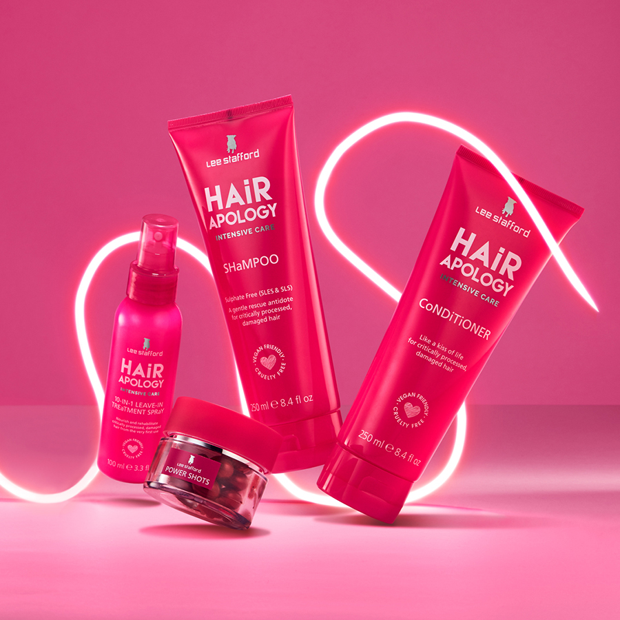 Win with Lee Stafford Hair Apology 1