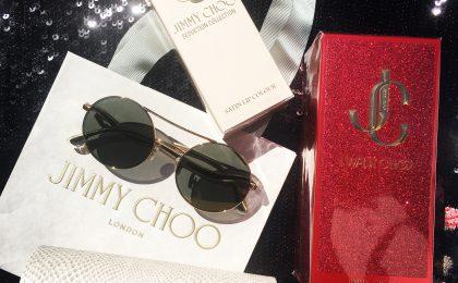 Win a Jimmy Choo fragrance, sunglasses and lipstick hamper