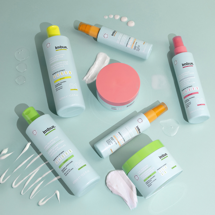 Win one of three Imbue hair care hampers 1