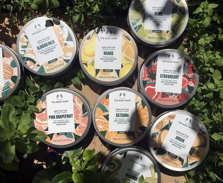 The Body Shop's newly-formulated vegan body butters are here